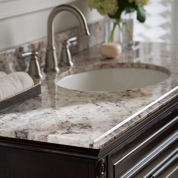 Style Home Decorators Collection 49 In Stone Effects Vanity Top Medium
