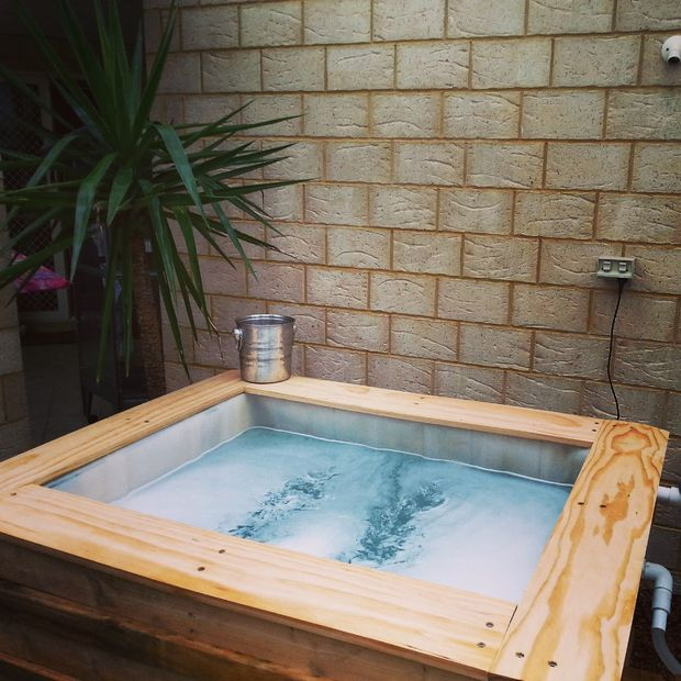 style ibc above ground plunge pool