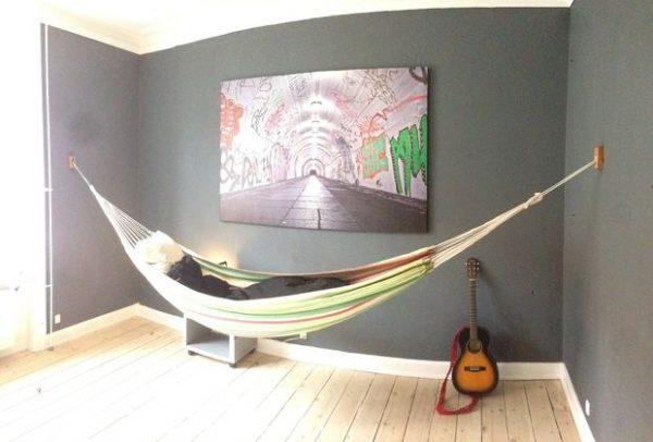 Style Indoor Hammock Wall Mount Medium