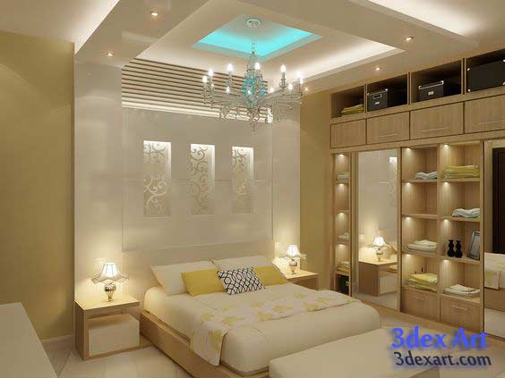 Style New False Ceiling Designs Ideas For Bedroom 2019 With Led Medium