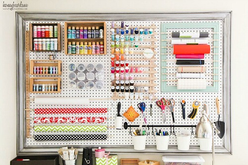 Style Pegboard Organization Clean And Scentsible Medium