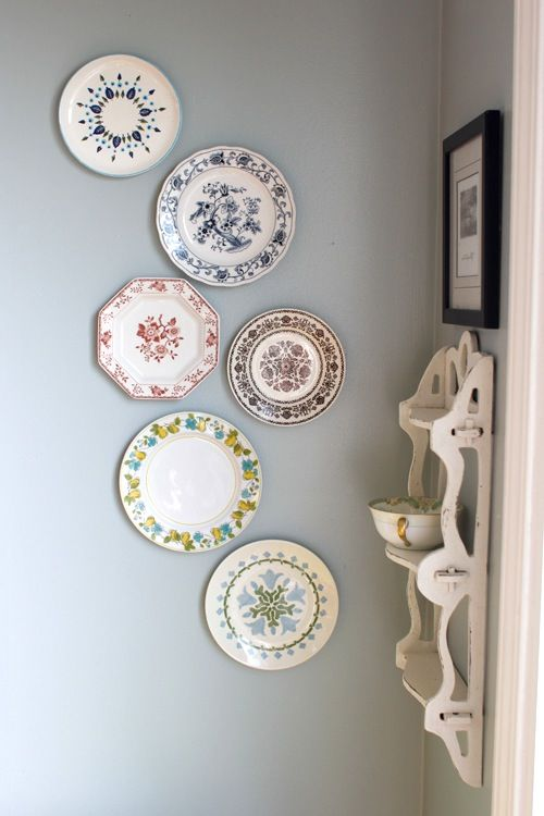Style Plate Display From The Living With Kids Home Tour Medium