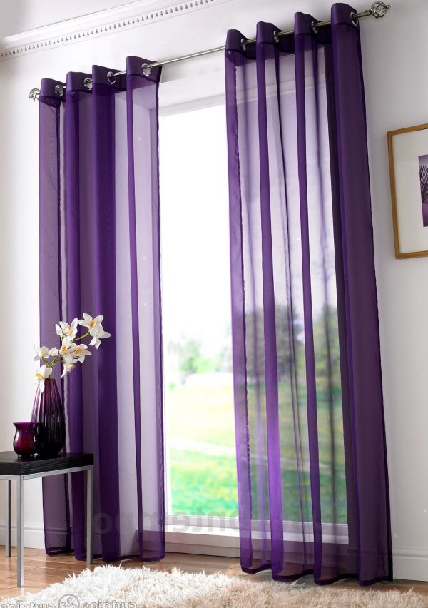 Style Purple Curtains For Girls Roomhome Design Ideas Medium