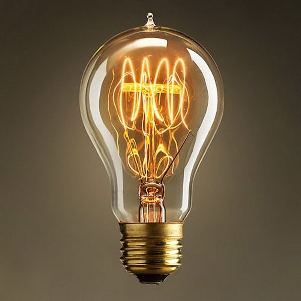 Style Quad Loop Filament Vintage Retro Antique Industrial Edison Medium