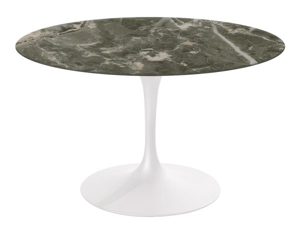 Style Saarinen Dining Table Grey Marble Hivemoderncom Medium