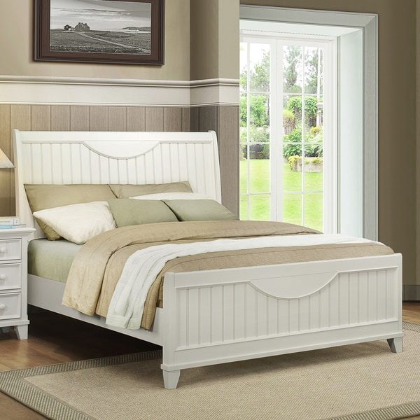 Style Shop Tribecca Home Alderson Cottage White Beadboard Medium