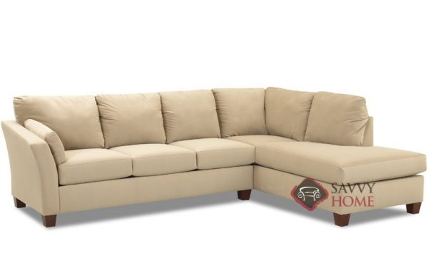 Style Sienna Fabric Sleeper Sofas Chaise Sectional By Savvy Is Medium