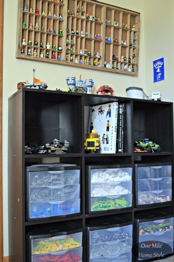 Style Simple And Decorative Lego Storage Medium
