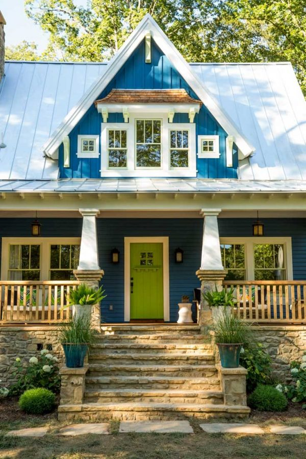 Style The Idea House A Craftsmanstyle Cottage In Georgia Medium