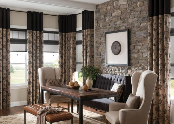Style Ways To Mix And Match Curtains With Blindszebrablinds Medium