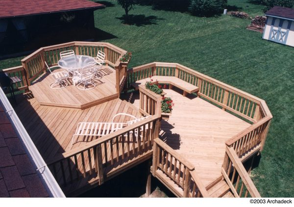 Style Wood Decks Rebound  Archadeck Of The Piedmont Triad Medium