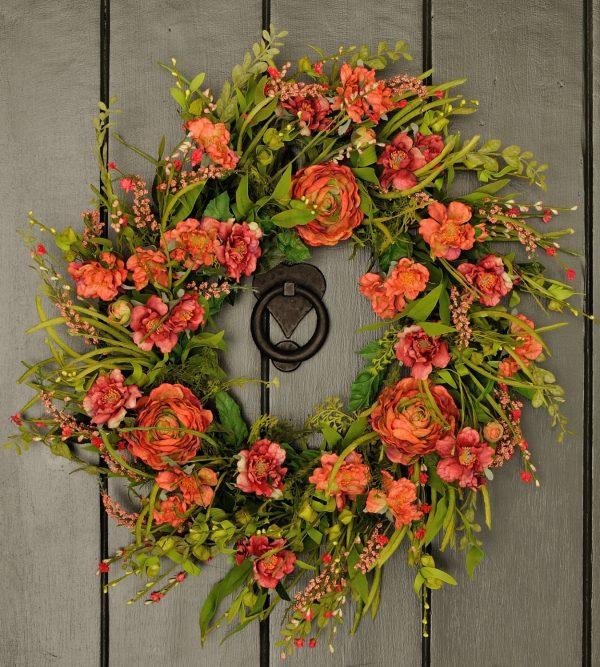 Tips 18 Freshlooking Handmade Spring Wreath Ideas Style Medium