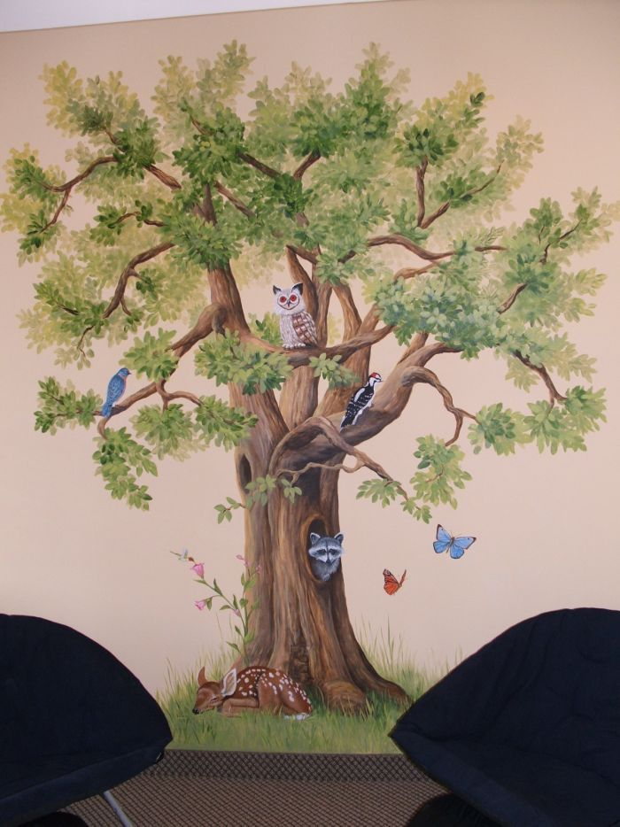 tips 25  best ideas about tree murals on tree wall