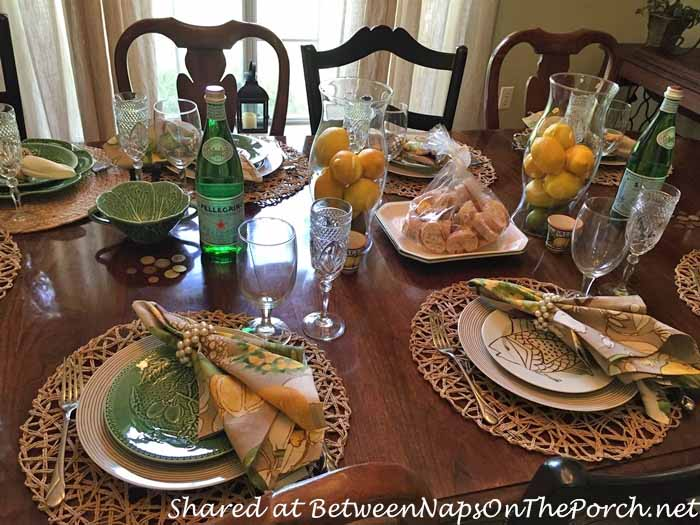 tips an italyinspired table setting   a special story
