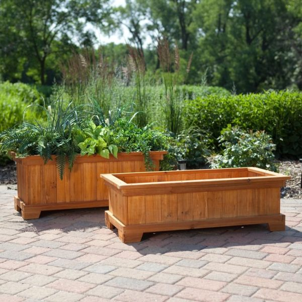 Tips Best 25  Large Planter Boxes Ideas On Yard Medium