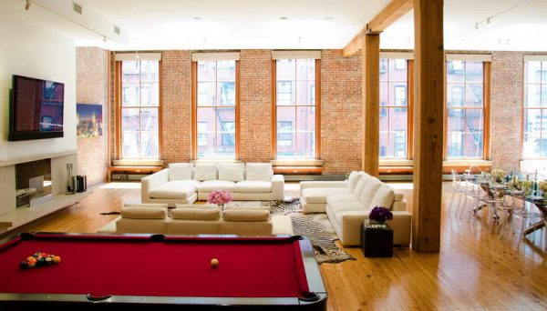 Tips Bloombetyloft Window Treatments With Brick Walls Loft Medium