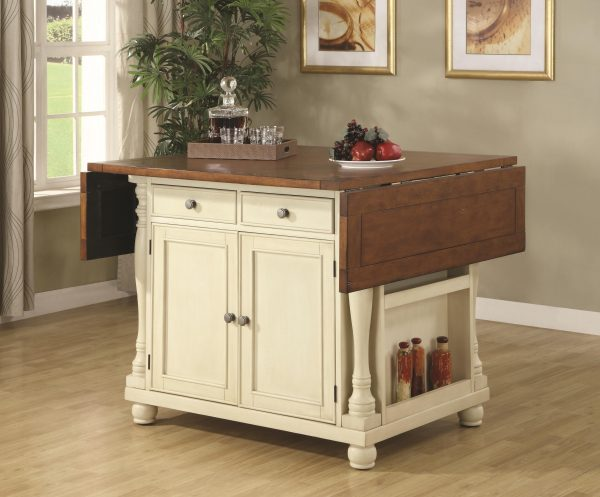 Tips Buy Kitchen Carts Twotone Kitchen Island With Drop Leaves Medium