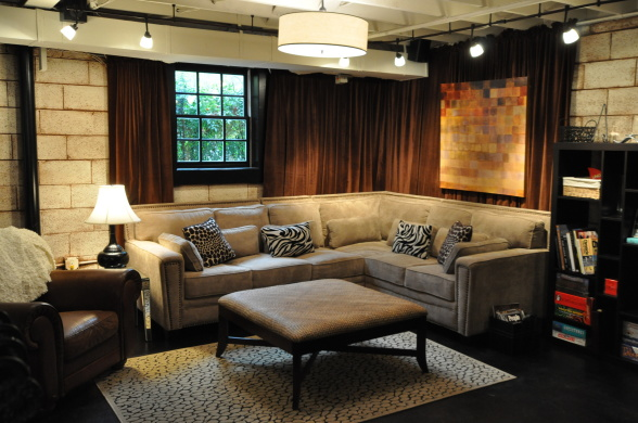 Tips Creating An Industrial Design Basement Basement Remodeling Medium