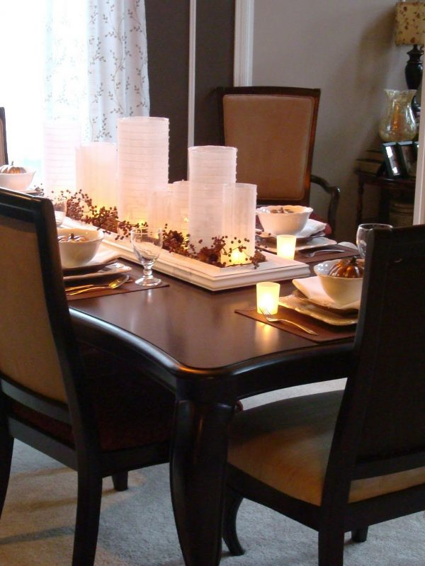 Tips Dining Table Decor For Perfect Dinner Traba Homes Medium