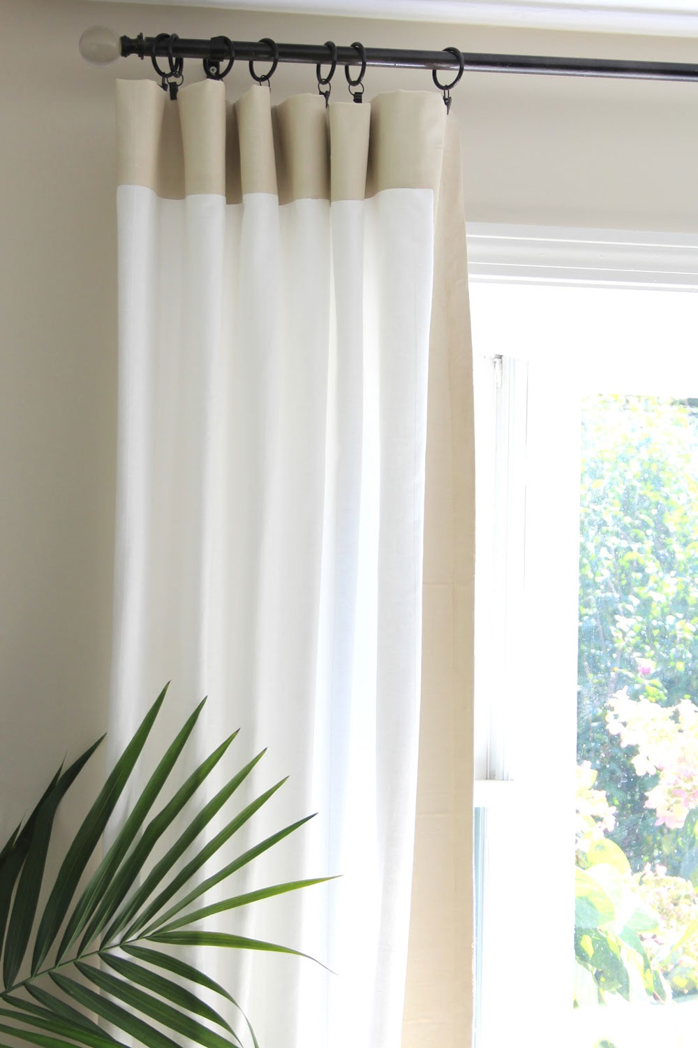 Tips Door Rod French Curtain Installing The Top 27