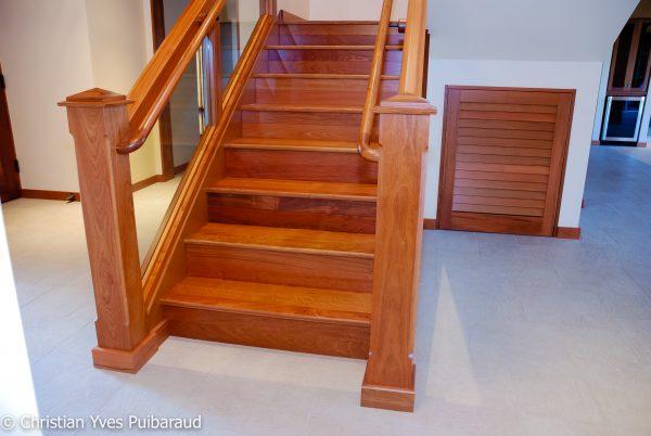 Tips Double Brazilian Cherry Staircases Studiofurnituremaui Medium