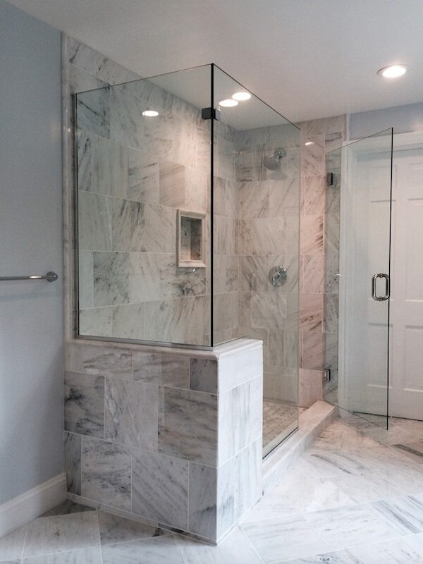 Tips Frameless Corner Shower Enclosures Medium