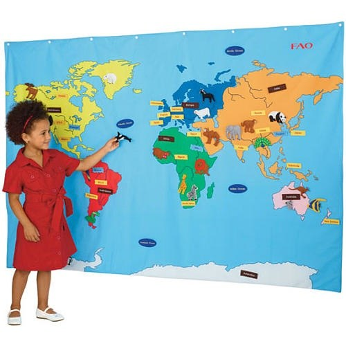 Tips Give Your Child The World 5 Unique Maps Medium