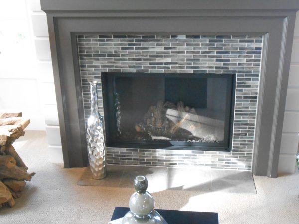 Tips Glass Tile Fireplace Surroundaifaresidencycom Medium