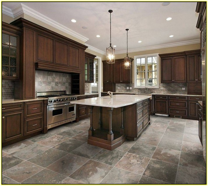 tips glazed porcelain tile for kitchen floor kitchen  55439