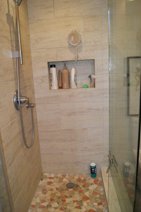 Tips Interior Elegant Shower And Bathroom Decoration Using Medium