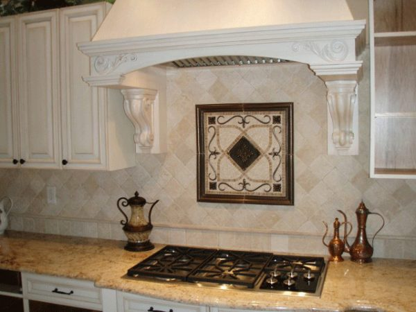Tips Kitchen Backsplash Mosaic And Metal Accent Mural Medium
