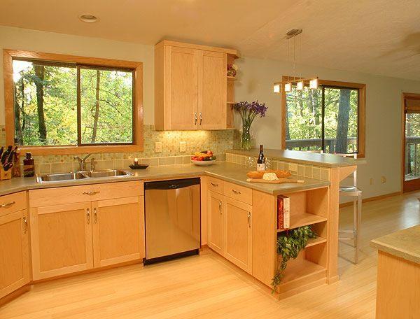 Tips Light Maple Kitchen Cabinetslight Maple Cabinets Photo Medium