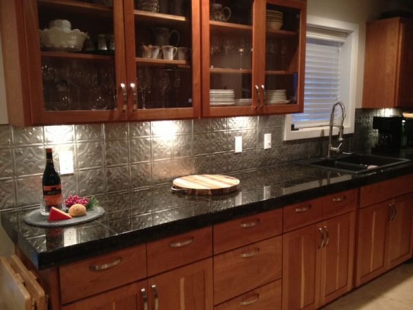 Tips Metal Backsplash For Kitchen Ideaskitchentoday Medium