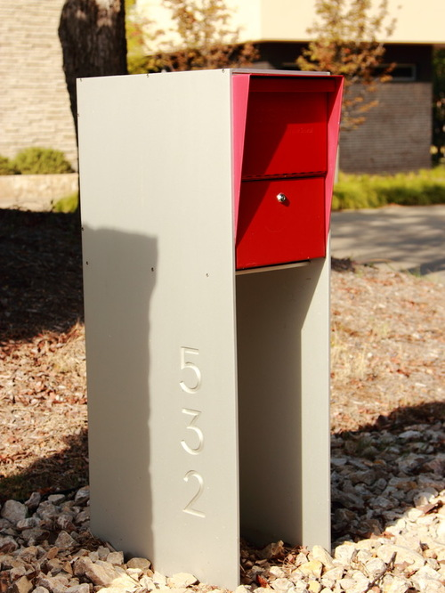Tips Mid Century Modern Mailbox Design And Color Options Medium
