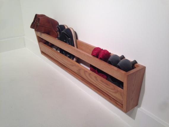 Tips Modern Wall Mounted Shoe Rack Medium