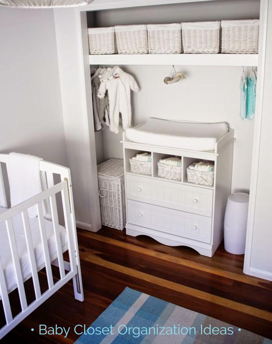 tips nursery closet organization easy diy baby closet