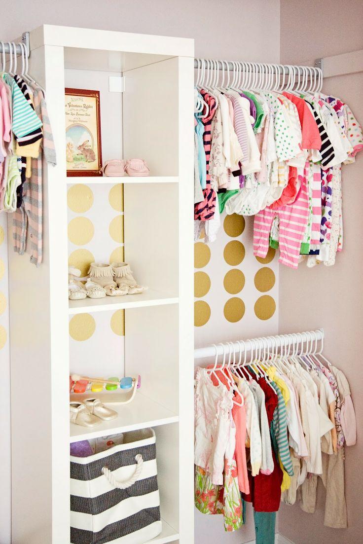 tips organizing the babys closet easy ideas   tips