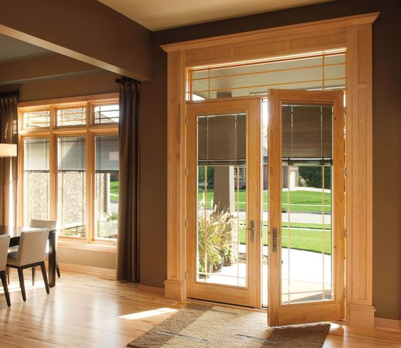 Tips Pella Designer Series Hinged Patio Doors Offer Innovative Medium