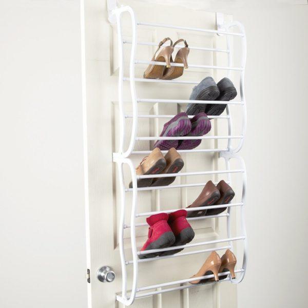 Tips Pink Wooden Wall Mounted Shoe Racks In Grey Girls Bedroom Medium