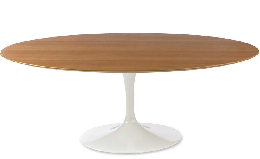 tips saarinen coffee table wood veneer hivemoderncom
