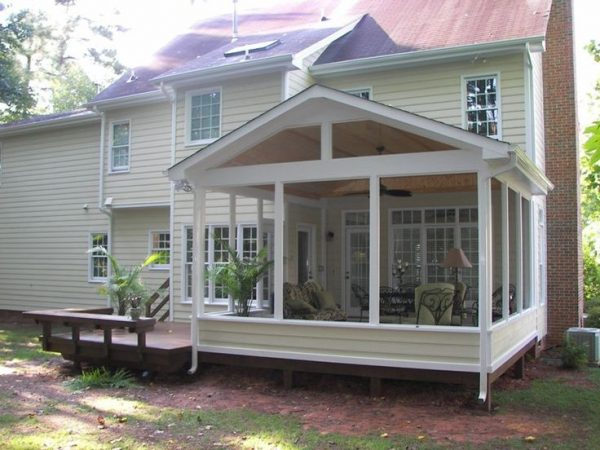 Tips Sceen Porches Imagesscreened Porch And Deck Screened Medium