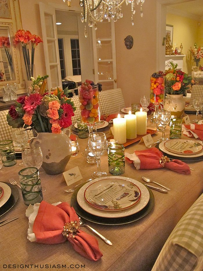 tips simple tuscan tablescape ideas for an italian themed party