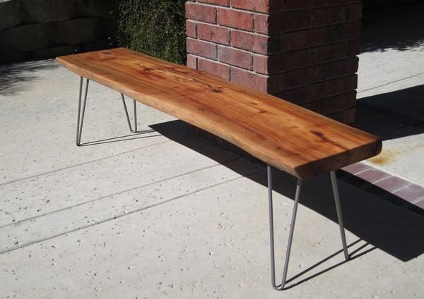 Tips Slab Bench Woodwaves Medium