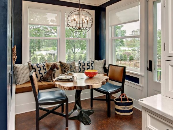 Tips Small Breakfast Nook Table With Banquette Seating And Medium
