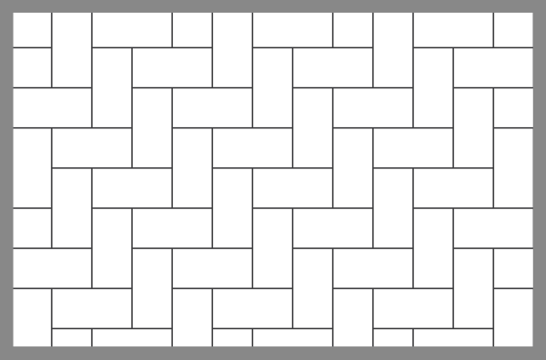 Tips Tile And Paver Layout Patterns Inch Calculator Medium
