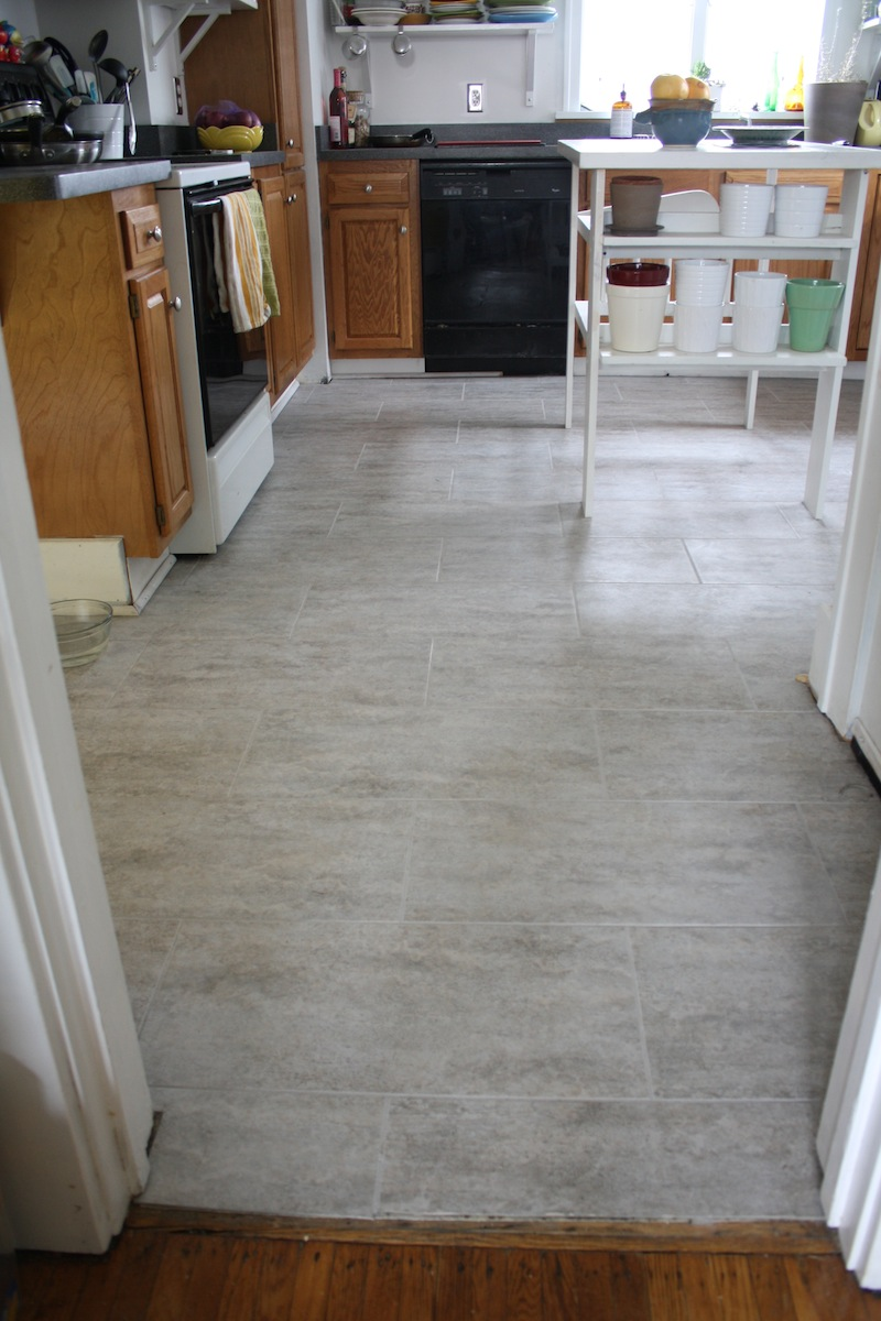 tips tips for installing a kitchen vinyl tile floormerrypad