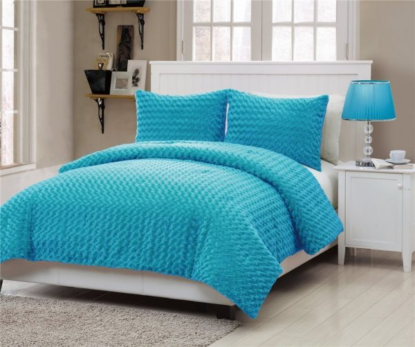 Tips Turquoise Comforter Setshomesfeed Medium