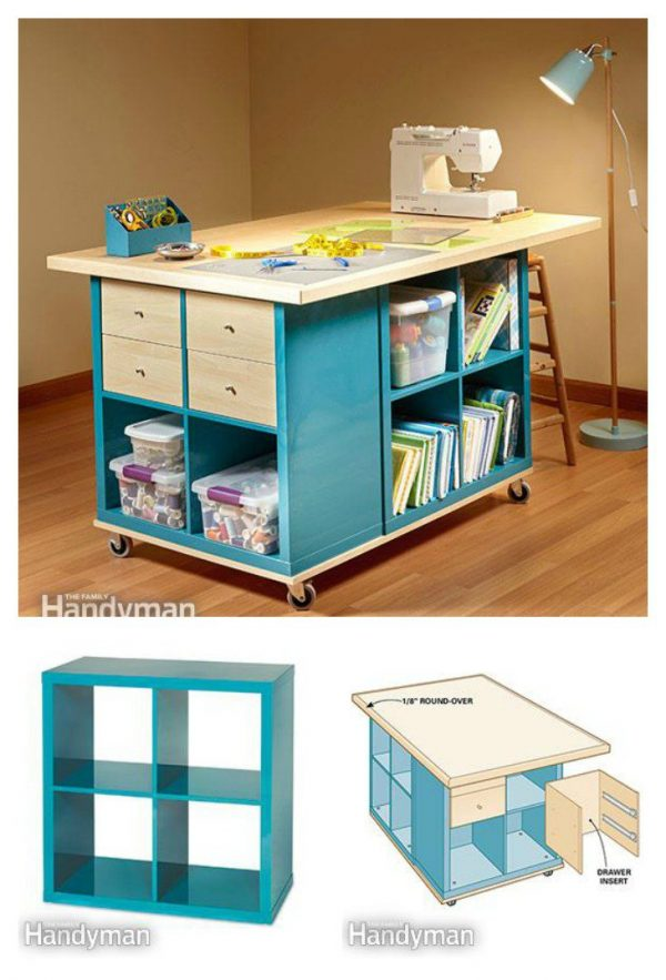 Top 15 Inspiring Sewing Table Designs The Sewing Loft Medium