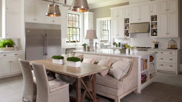 Top 15 Traditional Style Eatin Kitchen Designshome Design