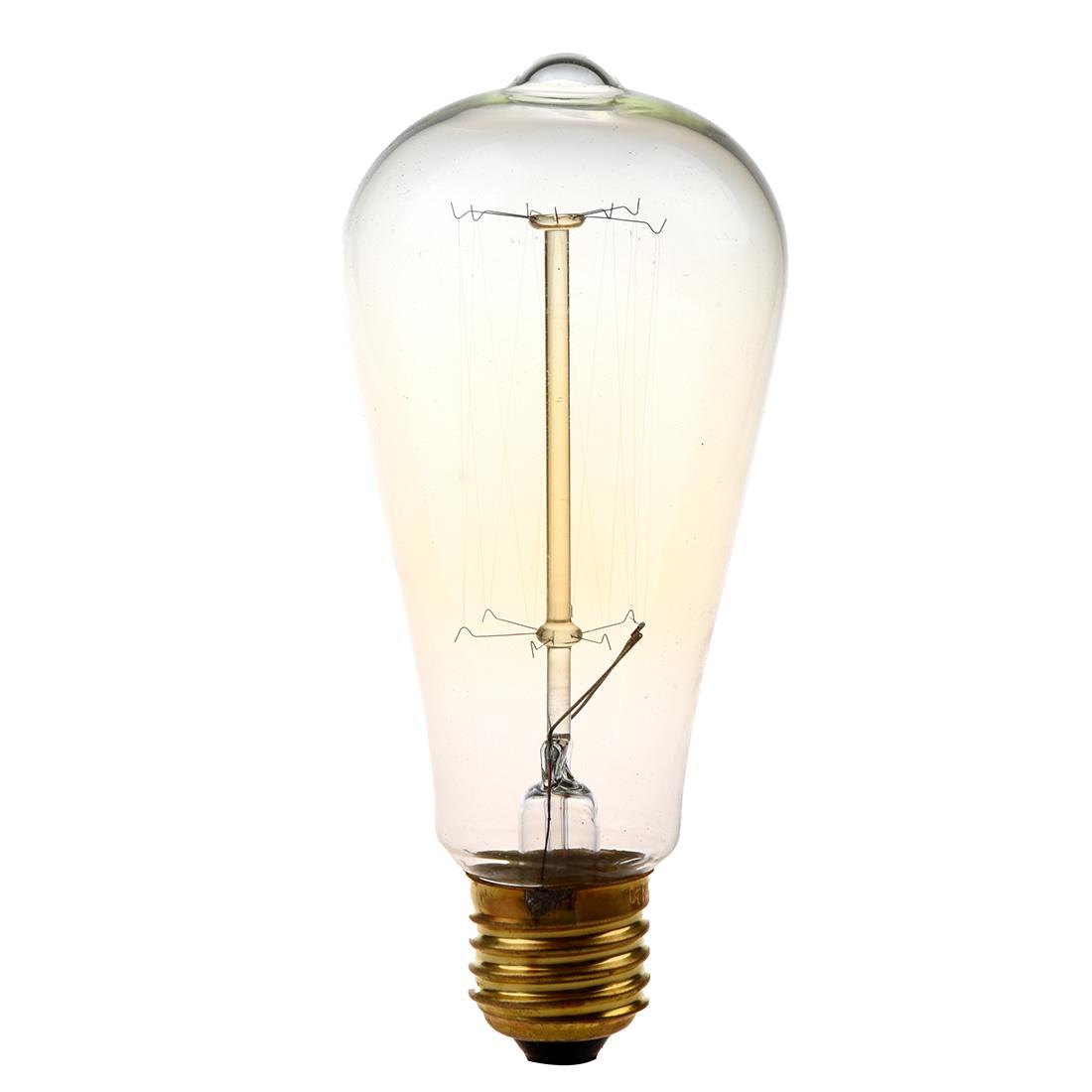 top 25w screw light bulb retro filament edison incandescent